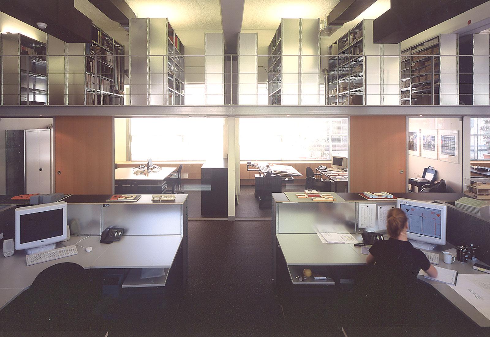 Interieur Kantoor Koningshof Amsterdam - GGH ARCHITECTEN